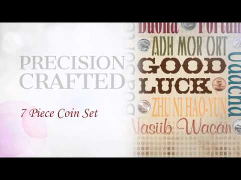 Good Luck Coins Subway Art Frame -  americancointreasures.com