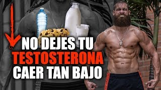 7 Foods That LOWER YOUR TESTOSTERONE (Cow Milk, Salt, Alcohol)