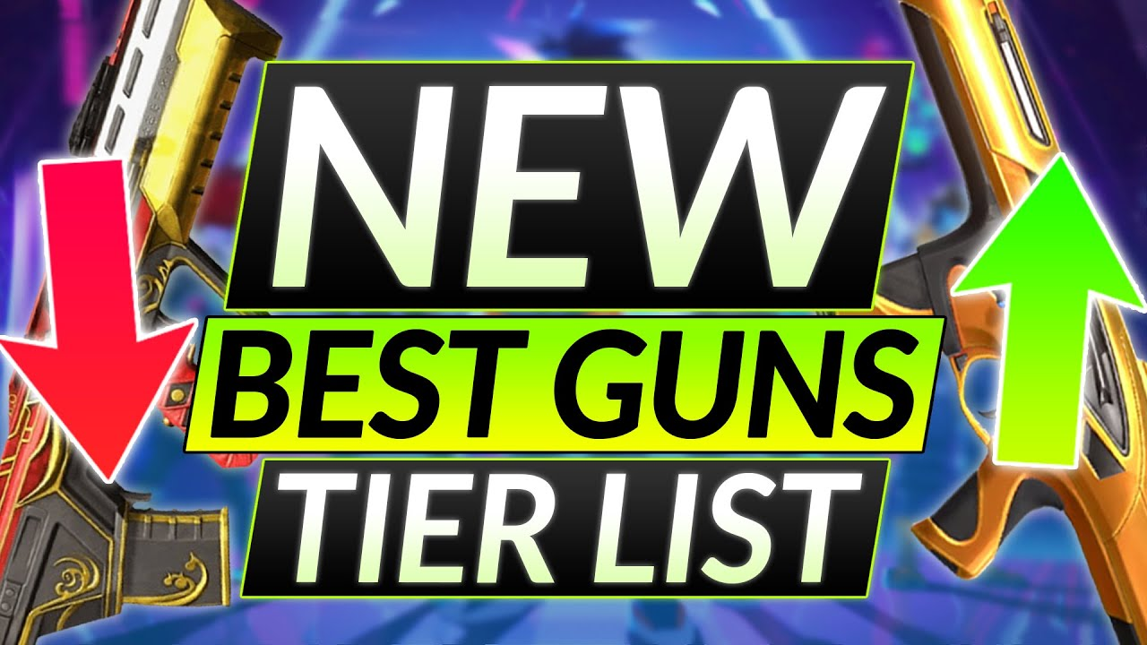 Download NEW UPDATED WEAPONS - Ranked BEST to WORST - Guns Tier List - Valorant Guide