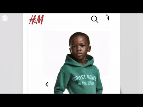 "H&M ""racist"" monkey hoodie causes outrage"