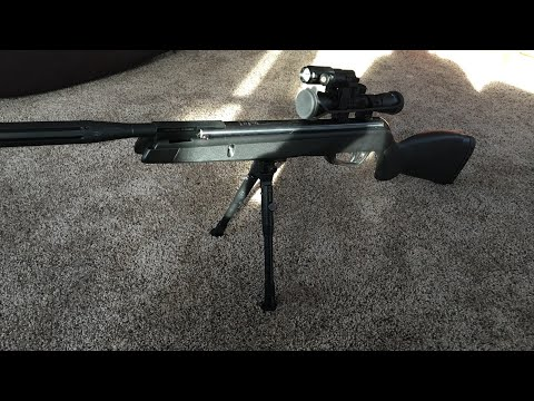 How To Mount A Rail And Bipod To Break Barrel Rifle