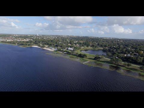 Waterfront Park - Clermont, FL - DJI 4K