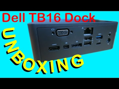 Dell Thunderbolt Dock TB16 240W Unboxing! - YouTube