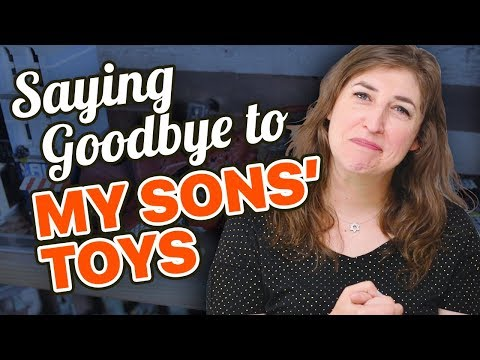 My Sons' Toys Make Me Cry  Mayim Bialik
