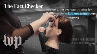Are cosmetologists training longer than EMTs? | The Fact Checker