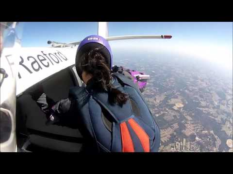Skydiving Over Raeford, NC Part 1