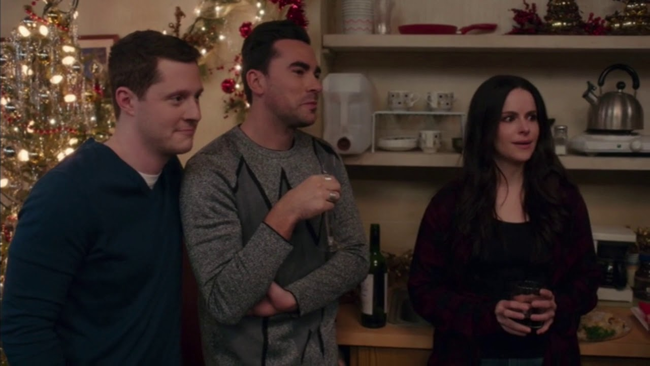 Schitt's Creek- David and Stevie