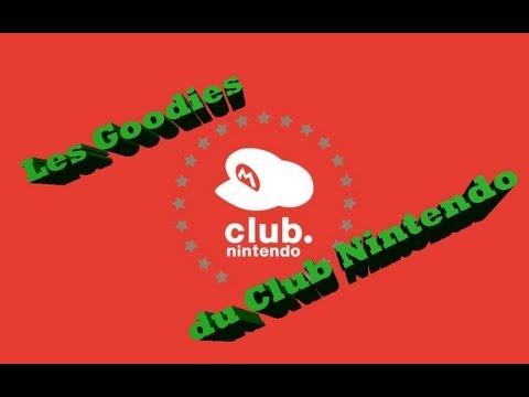 Les Goodies/cadeaux du Club Nintendo.fr {FR} / HD