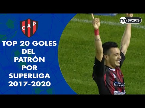 Top 20 goles de PATRONATO en Superliga (2017 - 2020)