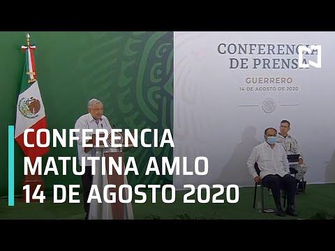 Conferencia matutina AMLO / 14 de agosto de 2020