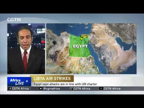 Egypt targets militants' ammunition stores in Libya