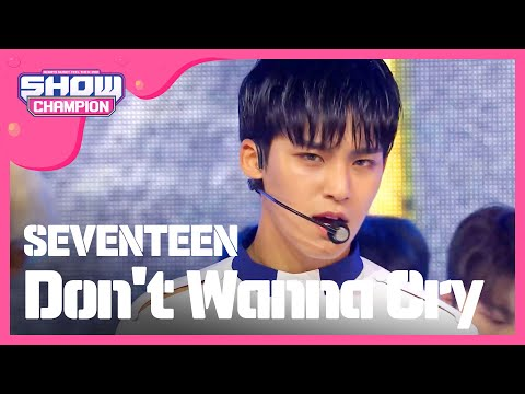 Show Champion EP.231 SEVENTEEN - Don't Wanna Cry