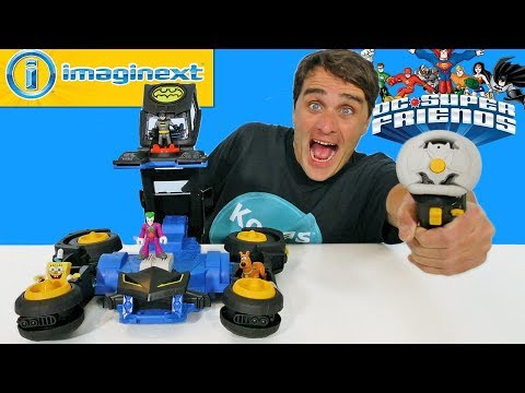 Imaginext Transforming RC Batmobile !  || Toy Review || Konas2002