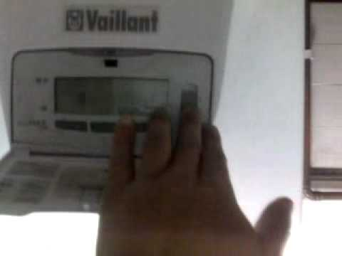 Vaillant Ecomax boiler flashing error code F 10.
