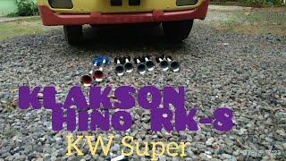Klakson Hino RK-8 KW Super, 11 - 12 Dengan Aslinya
