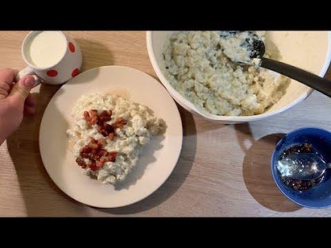 babas authentic polish haluski recipe with potato dumplings