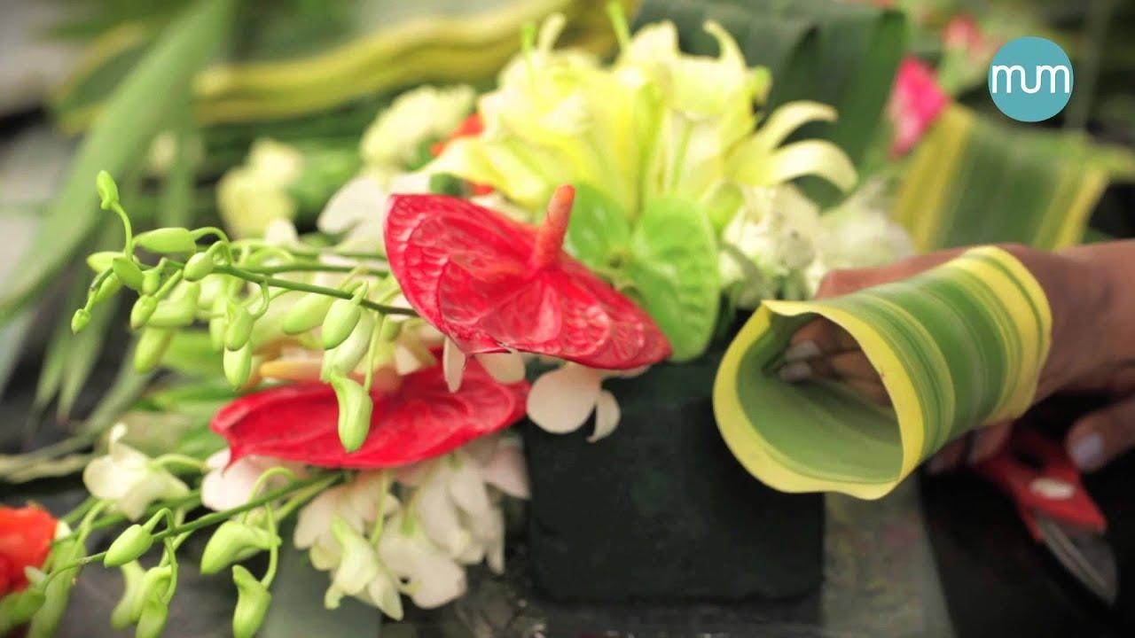 Ganesh Chaturthi Floral Decor Art