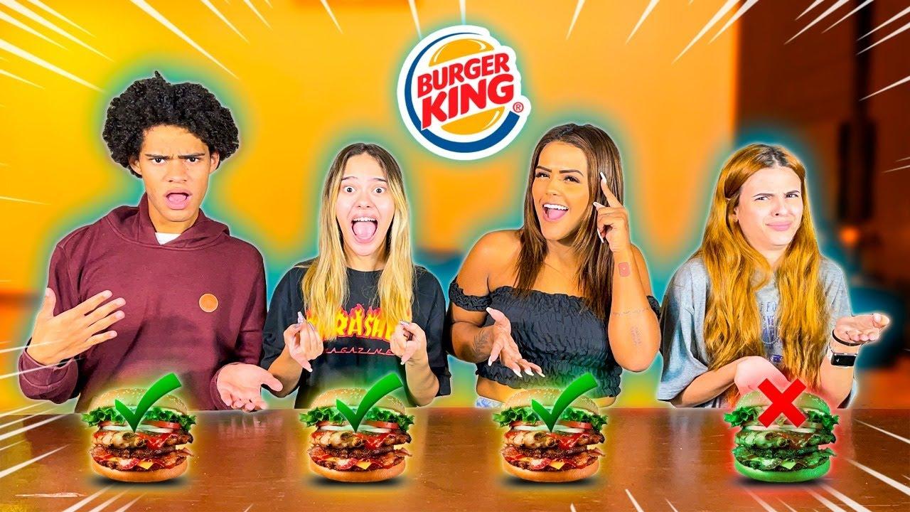 NÃO ESCOLHA O BURGER KING TROLADO !!!