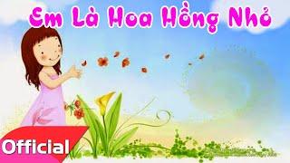 [Karaoke HD] Em Là Hoa Hồng Nhỏ - Nhạc Thiếu Nhi