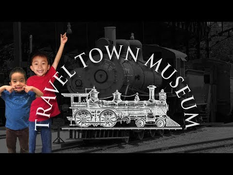 Travel Town Railroad and Museum in Griffith Park (Los Angeles Train Museum): Traveling with Kids