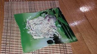 Салат из свининого сердца к празднику. | Salad from the pork heart for the holiday.
