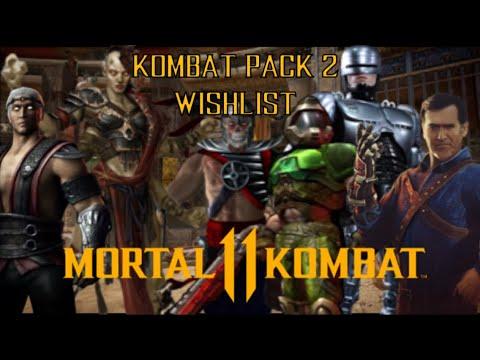 Mortal Kombat 11 - Kombat Pack 2 Wishlist  