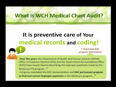 WCH Service Bureau Inc. | Medical Chart Audit