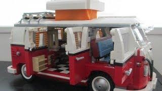 Lego Volkswagen T1 Camper Van 10220 Review