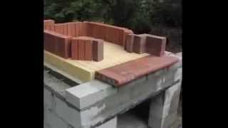 Woodfired bread/ pizza oven construction