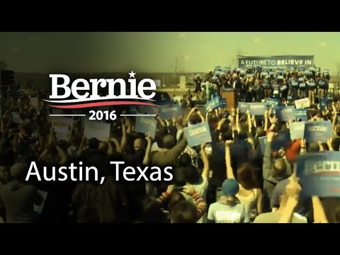 Bernie Sanders @ Austin, Texas (Feb 27) *Recorded Livestream*