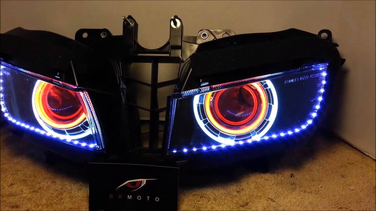 1 2013 2014 Honda Cbr600rr Projector Headlights Bixenon