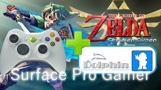 Zelda Skyward Sword with Xbox 360 Controler Configuration Tutorial, Dolphin emulator