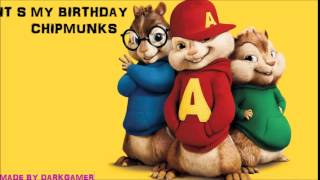 Video IT S MY BIRTHDAY CHIPMUNKS download MP3, 3GP, MP4, WEBM, AVI, FLV Oktober 2018