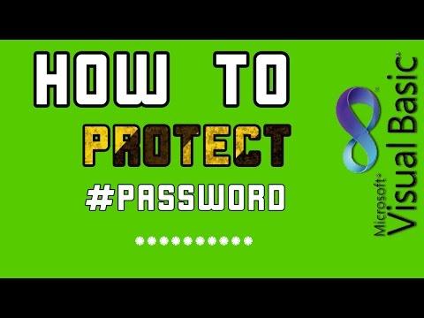 เขียนโปรแกรม Vb 2010 ตอนที่ 2 การป้องกันด้วย Password |  Protected Password