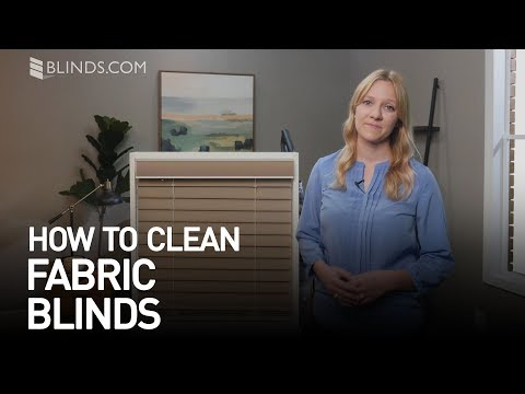 How To Clean Fabric Blinds | Blinds.com