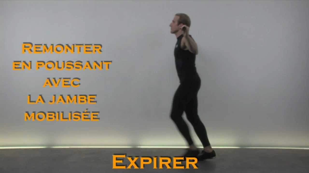 Coach Video Exercice Fitness Musculation : Fentes Avant - YouTube