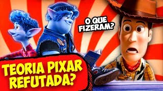 A Teoria da Pixar foi Refutada? Teoria Onward, Toy Story e Monstros S.A.