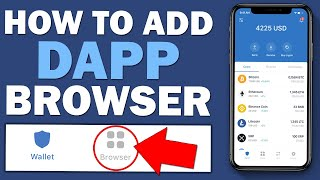 How To Add DApp Browser To Trust Wallet On Iphone (IOS)