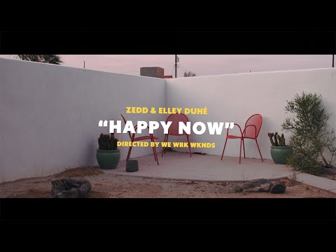 Zedd & Elley Duhé - Happy Now (Lyric Video)