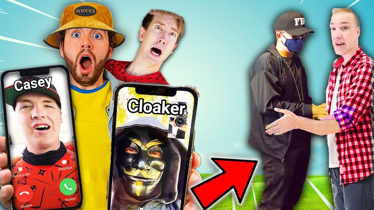 CALLING CLOAKER & CASEY 😱 **UNMASKING CLOAKER HE IS CWC BRO** 😢(Spy Ninjas Vy Qwaint Chad Wild Clay)