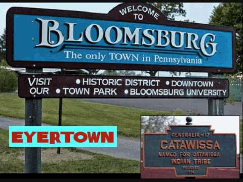 Origins of Town Names of Northeast Pennsylvania