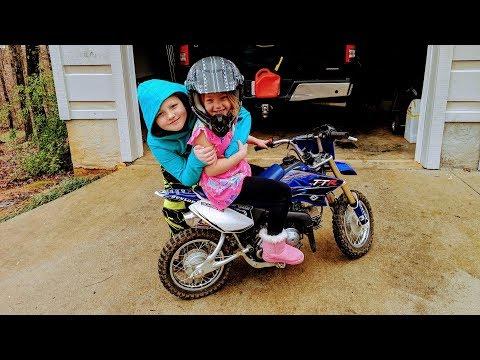 An adventure to get a little girl a Dirt bike. Exciting fun!