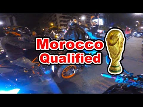 Casablanca gone wild : Morocco got qualified to the world cup 🌎🏆