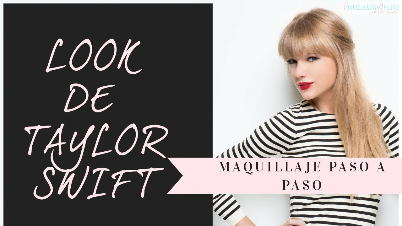 tutorial maquillaje taylor swift paso a pasomtv awards