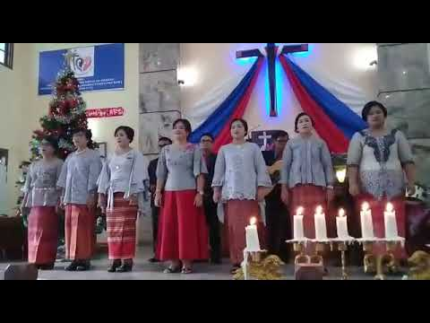 Bai Borngin Ni In (Haleluya No : 420) Lagu Natal Simalungun Sektor Pasar Hitam GKPS Rambung Merah