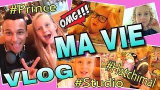 MaVie's VLOG neues Studio Prince Damien Besuch 💥 Hatchimal | Mavie Noelle