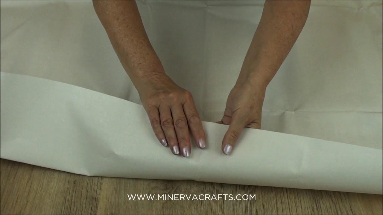 Iron On Double Sided Fusible Buckram Stiffener   Fabric