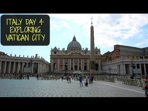 Italy Vlog 5: Exploring Vatican City and The Sistine Chapel
