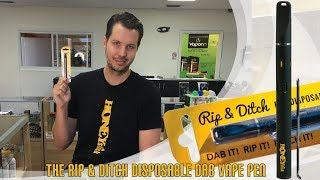 The Rip & Ditch by HoneyStick | Dab & Concentrates | How to use it | FAQS