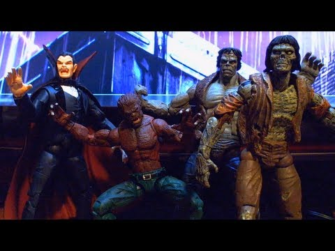 VR Reviews: Marvel Legends- Monsters Box Set (Zombie, Frankenstein, Werewolf by Night, Dracula)